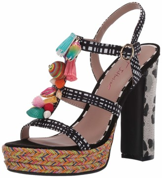 Betsey Johnson Women's MARCYY Heeled Sandal