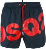DSQUARED2 DSQ2 logo swim shorts - men - Polyamide - 46