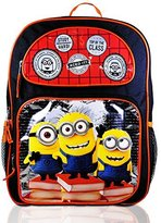 """Disney Boy's Backpack with Lunchbox Set and Value Packs (Minions 16"""" -At the Top of the Class Boys) by"""