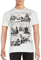 Kinetix Comic Print Cotton-Blend Tee