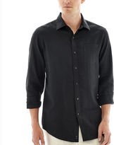 Claiborne Long-Sleeve Linen Shirt