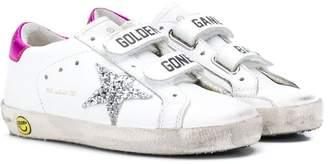 Golden Goose Kids old school strap sneakers