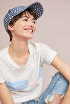 Anthropologie Polka Dot Baseball Cap