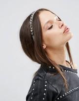 Asos Pyramid Chain Headband