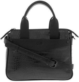 Jag Lucille Zip-Top Black Satchel