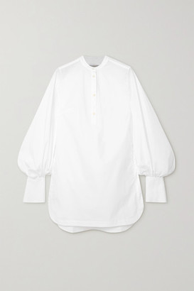 Palmer Harding Kapori Cotton-blend Poplin Shirt - White