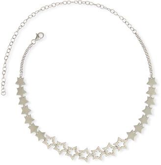 Siena Jewelry Diamond Star Choker Necklace