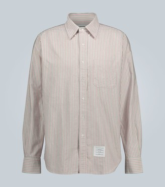 Thom Browne Striped long-sleeved shirt