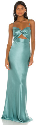 Mason by Michelle Mason X REVOLVE Twist Gown