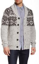 Triple Five Soul Shawl Collar Cardigan Sweater