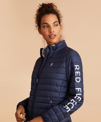 Brooks Brothers Logo-Graphic Puffer Jacket