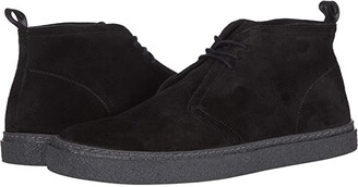 Fred Perry Hawley Suede (Black) Men's Shoes