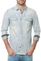 Buffalo David Bitton Salaney Woven Denim Shirt
