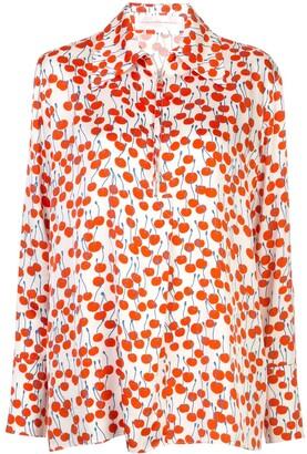 Victoria Victoria Beckham Cherry-Print Shirt