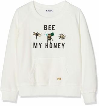 MEK Girl's 183MIFC010-900 Sweatshirt