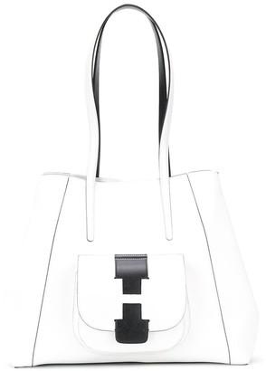 Hogan Colour-Block Shoulder Bag