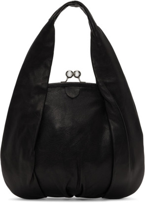 Y's Ys Black Clasp Hand Bag