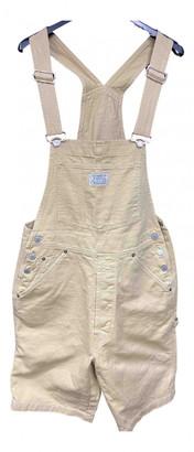 Levi's Vintage Clothing Beige Cotton Jumpsuits