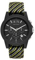 Armani Exchange Outerbanks Chronograph Strap Watch