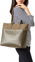 Hobbs Leather Comrie Tote Bag, Olive