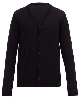Wardrobe.nyc - Release 05 Knitted Merino-wool Cardigan - Black