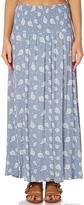 Swell Paisley Wrap Maxi Skirt