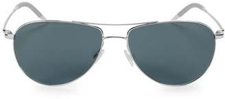 Oliver Peoples Benedict 59MM Polarized Aviator Sunglasses