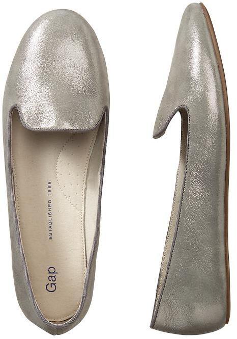 Gap Metallic loafers