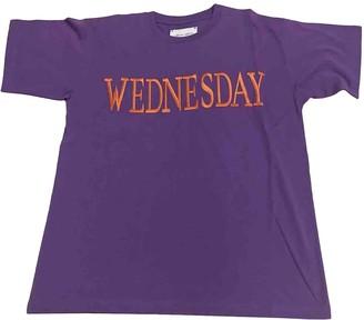 Alberta Ferretti Purple Cotton Top for Women