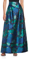 Eliza J Lily Floral A-Line Skirt