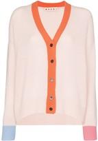 Marni v-neck cashmere cardigan