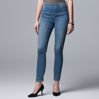 Simply Vera Vera Wang Mid Rise All-Day Denim Legging