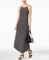 NY Collection Striped Maxi Dress