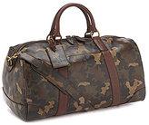 Polo Ralph Lauren Camo Leather Duffel Bag
