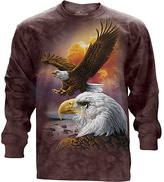 The Mountain Brown Eagles Long-Sleeve Tee - Unisex