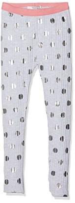 Noppies Girl's G Legging Long Woodridge AOP Light Grey Melange C245, cm