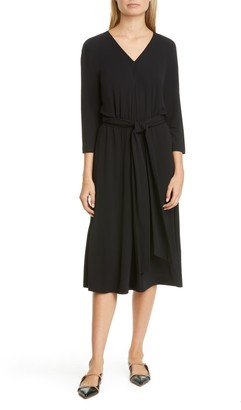 Lafayette 148 New York Evans Belted Midi Dress