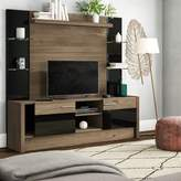 Union Rustic Quinten Entertainment Center for TVs up to 50 inches Union Rustic Color: Nature / Black