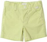 Il Gufo Gingham Stretch Cotton Shorts