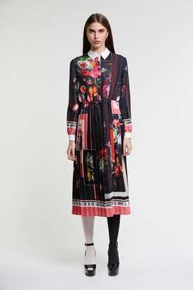 DELFI Collective The Sabrina Dress In Black Multi - S