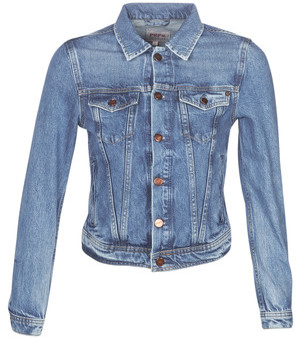 Pepe Jeans CORE women's Denim jacket in Blue