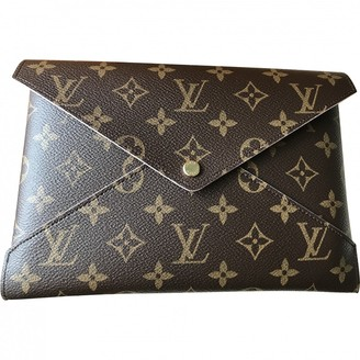 Louis Vuitton Kirigami Brown Cloth Purses, wallets & cases
