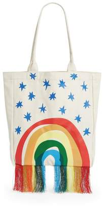 Stella McCartney Rainbow Tassel Tote Bag