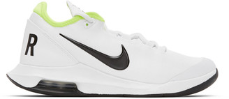 Nike White and Black NikeCourt Air Max Wildcard Sneakers
