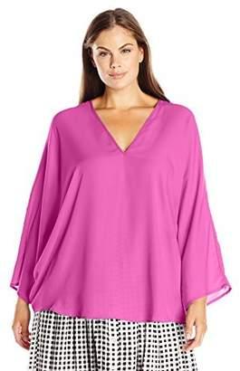 Single Dress Women's Plus Size Butterfly Top