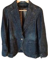 Isabel Marant Blue Cotton Jeans