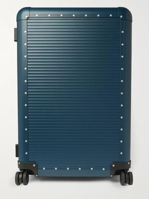 FPM Milano Spinner 76cm Aluminium Suitcase - Men - Blue
