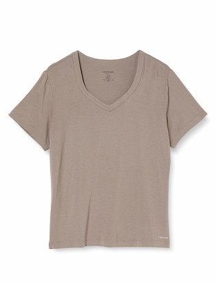 Calvin Klein Women's S/S V-Neck Pyjama Top