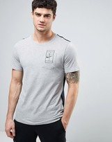 Nike Court Pocket T-Shirt In Grey 836064-066