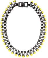 Mawi Yellow Pearl Necklace